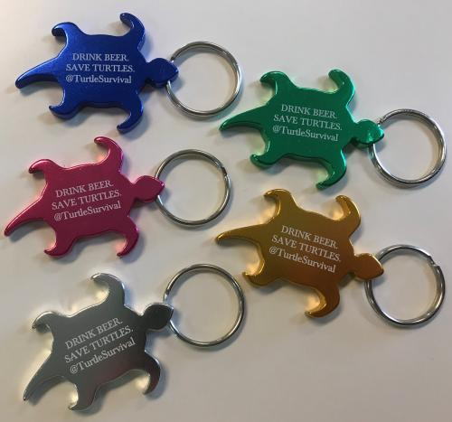 Drink Beer. Save Turtles. Key Chains. Various Colors. Click image to go to TSA Store.