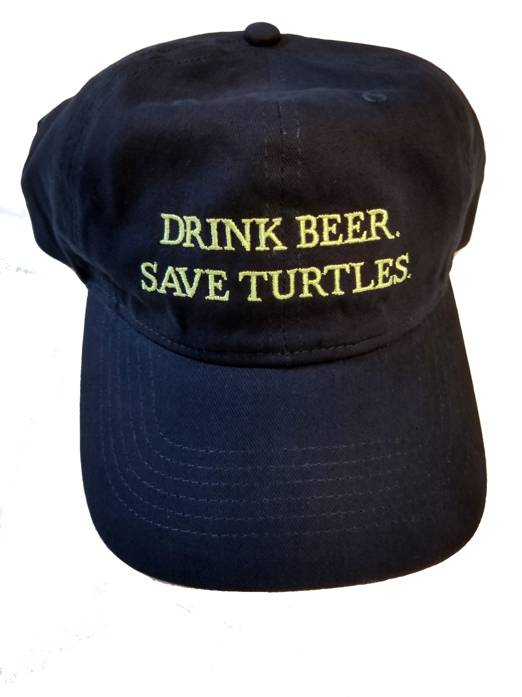 Drink Beer. Save Turtles. Unstructured Hat. Click Image to go to TSA Store.